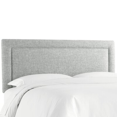 Cansler Border Upholstered Panel Headboard Size: California King, Upholstery: Zuma Pumice by Brayden Studio