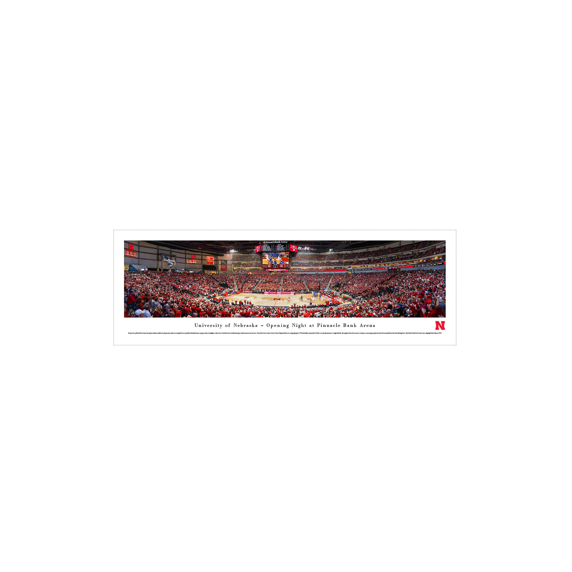 Vault W Artwork Ncaa Nebraska University Of Basketball By James Blakeway Photographic Print Wayfair
