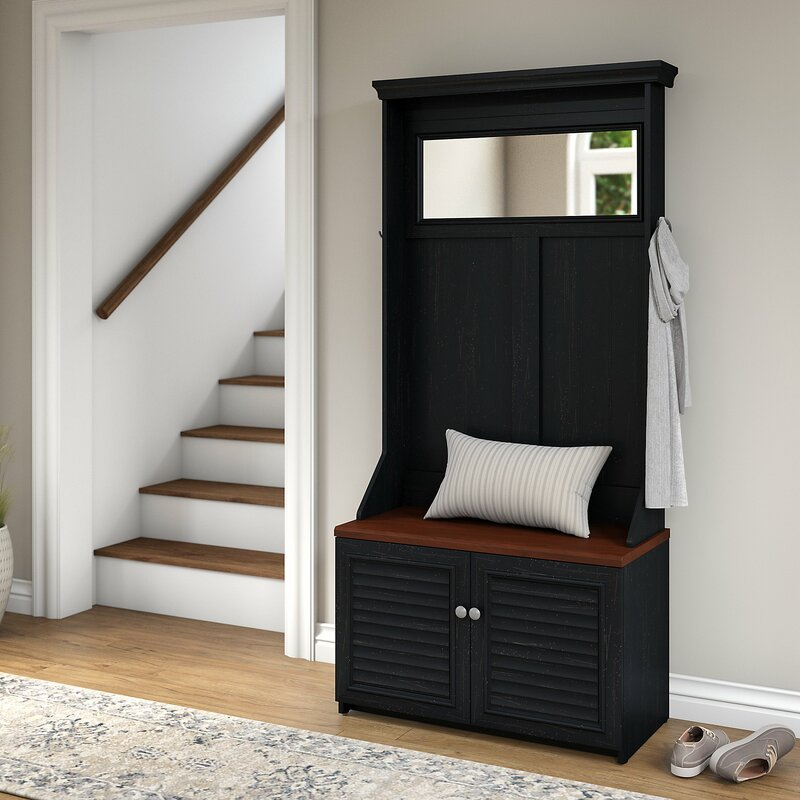 Oakridge Hall Tree With Shoe Storage Bench