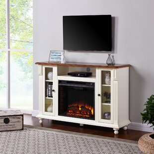 Great Price Contreras TV Stand for TVs up to 50 with Fireplace by Alcott Hill Reviews (2019) & Buyer's Guide