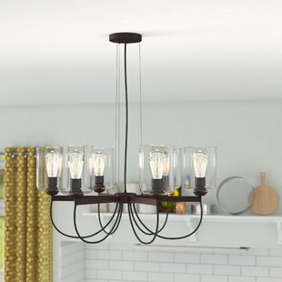 Ivy Bronx Paul 6-Light Shaded Chandelier