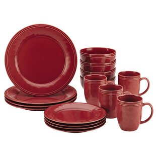 Red Dinnerware Sets  sc 1 st  Wayfair : red dinnerware sets cheap - pezcame.com