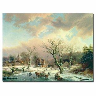 Canvas Winter Scenes | Wayfair