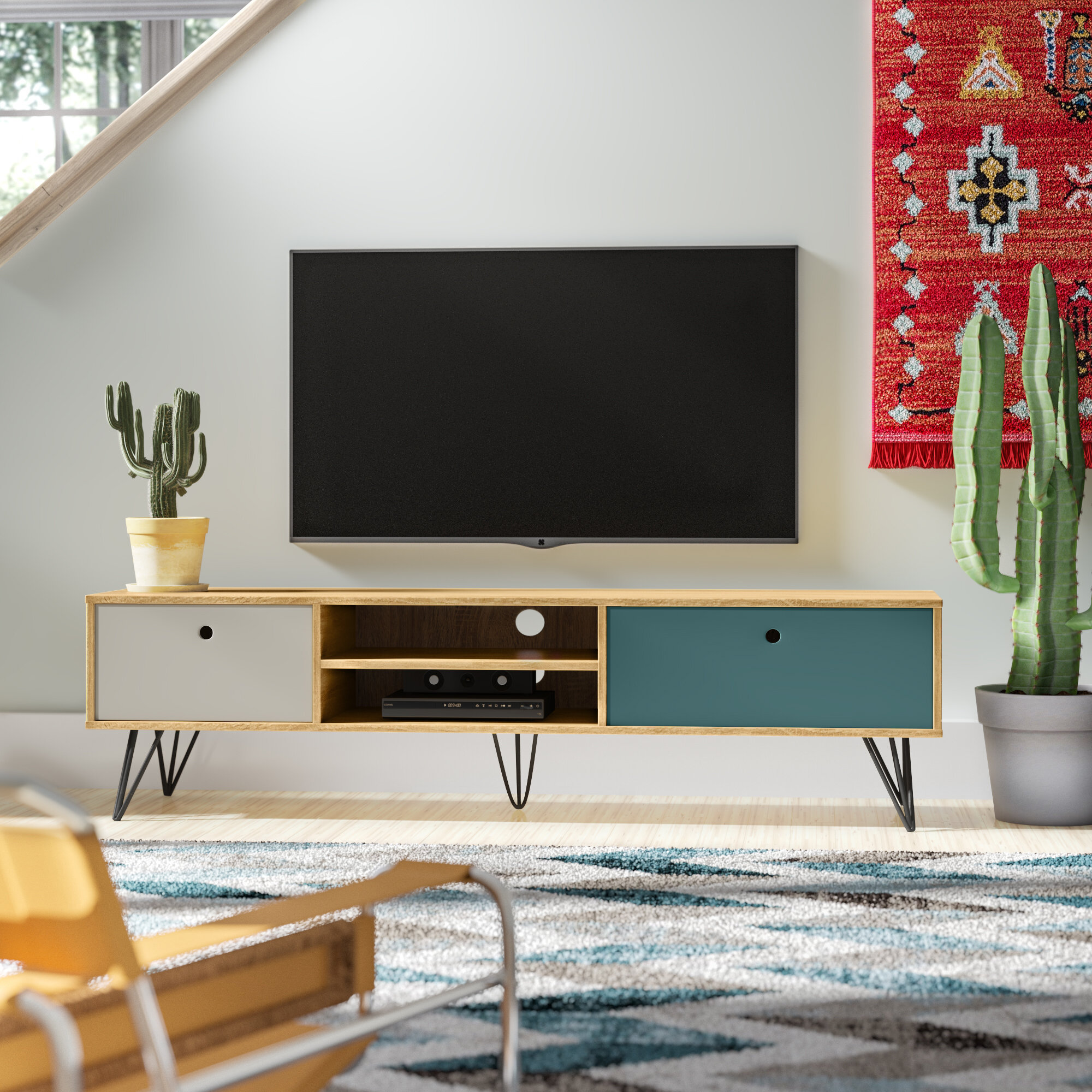Amalia Low Wide Tv Stand