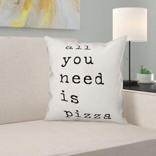 Pizza Pillow Wayfair