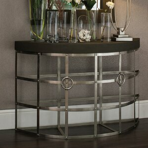Brazley Half Moon Console Table