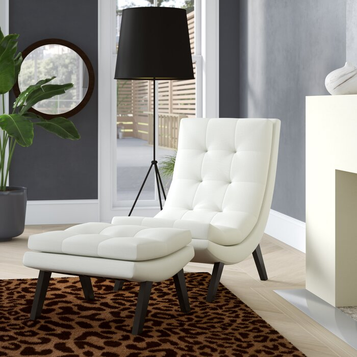 Groovy Woodbine Slipper Chair And Ottoman Bralicious Painted Fabric Chair Ideas Braliciousco