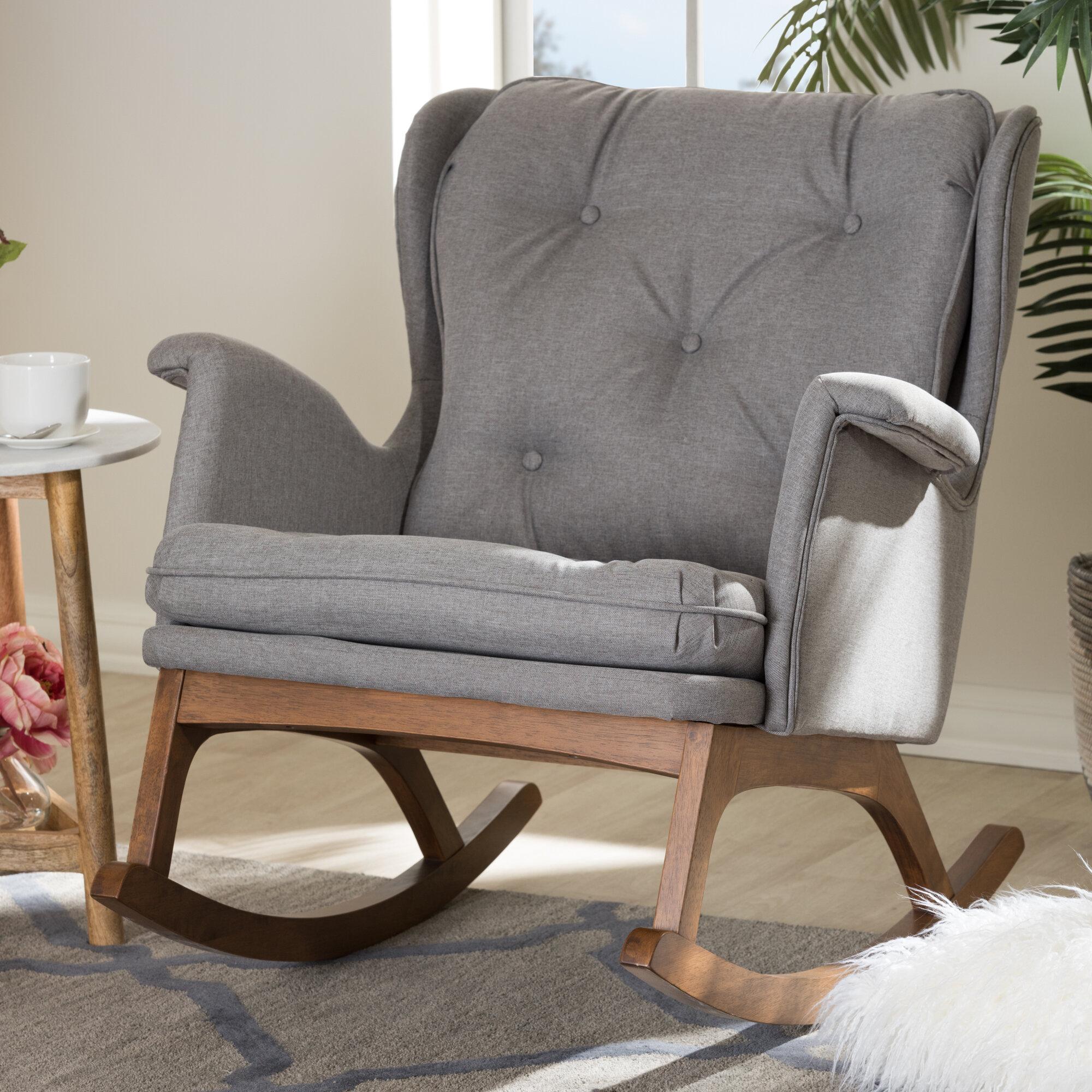 Amazing Hanson Rocking Chair Short Links Chair Design For Home Short Linksinfo