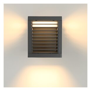 Slits LED Outdoor Sconce By Lucide
