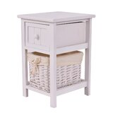 Dacia End Table with Storage by Rosecliff Heights