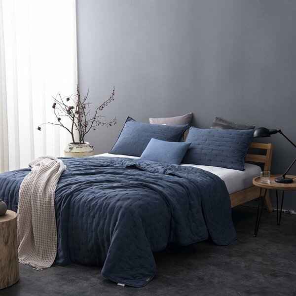 Greyleigh Fleisher Pre Washed Reversible Quilt Set