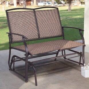 Terrific Gries Patio Rocking Bench Lamtechconsult Wood Chair Design Ideas Lamtechconsultcom