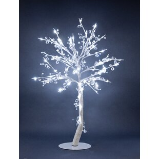 Hi-Line Gift Ltd. Crystal Tree with 384 Crystals and 96 Lights