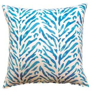 Reef Knife Edge Cotton Throw Pillow (Set of 2)