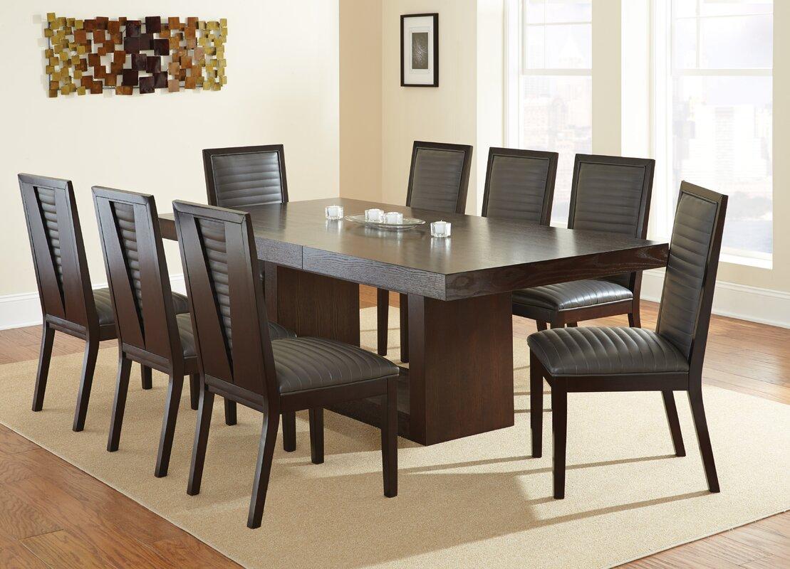 Brayden Studio Antonio Extendable Dining Table Amp Reviews