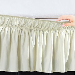 Undercliff Easy Wrap Elastic Ruffled 16 Bed Skirt