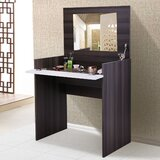 Azariel Vanity with Mirror by Latitude Run®