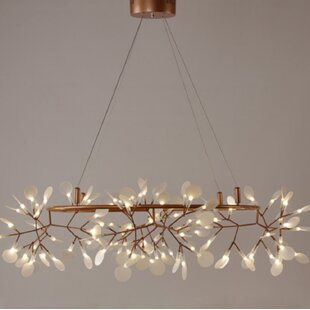 Nalley Firefly 108-Light LED Novelty Chandelier by Wrought Studio