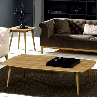 George Oliver Kellan 2 Piece Coffee Table Set