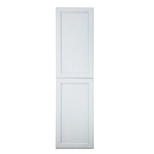 Agnessa Recessed Framed 2 Door Medicine Cabinet with 2 Adjustable Shelves