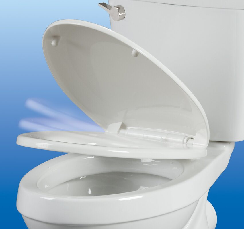 Bathroom Anywhere bathroom anywhere watersense rear outlet 1.28 gpf round toilet