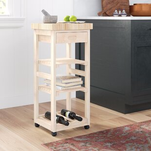 Lynn Kitchen Cart by Mistana Best