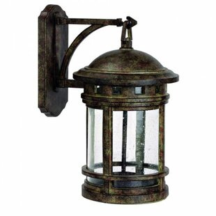 Sahara 1-Light Outdoor Wall Lantern by Yosemite Home Decor