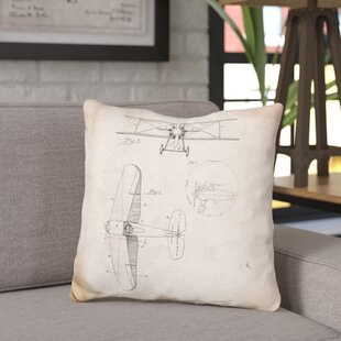 Chatman W D Clark Plane Throw Pillow