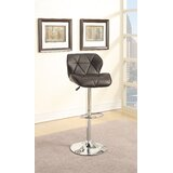 Dungonnell Adjustable Height Bar Stool (Set of 2) by Orren Ellis