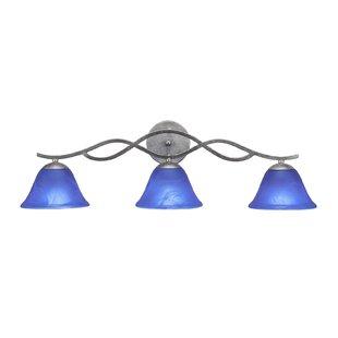 Latitude Run Nikolai 3-Light Vanity Light