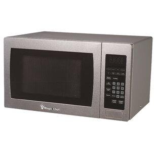 19.1 0.9 Cu Ft 900 Watt Digital Touch Countertop Microwave