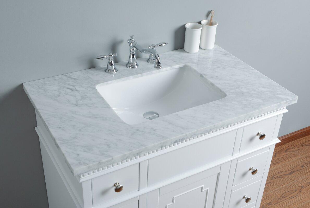 Default nameAlcott Hill Burbage 36  Single Bathroom Vanity Set   Reviews   Wayfair. Bathroom Countertop Accessories Sets. Home Design Ideas
