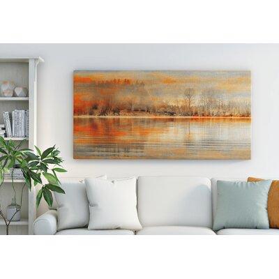 Gerahmtes Leinwandbild Serenity   Dekoration > Bilder und Rahmen > Bilder   East Urban Home