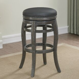 Edensor 26 Swivel Bar Stool by Loon Peak Comparison