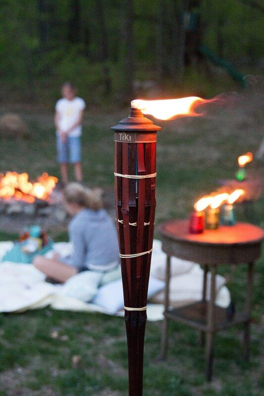 Royal Poly Bamboo Tiki Torch