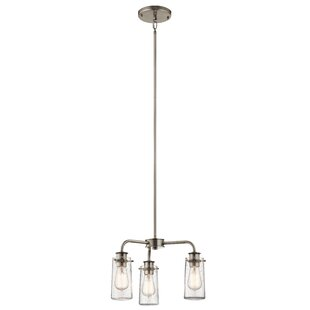 17 Stories Olle 3-Light Cluster Pendant