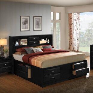 Roundhill Furniture Blemerey Storage Platform Bed