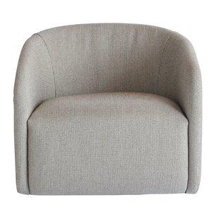 Aherne Swivel 26 Barrel Chair by Orren Ellis