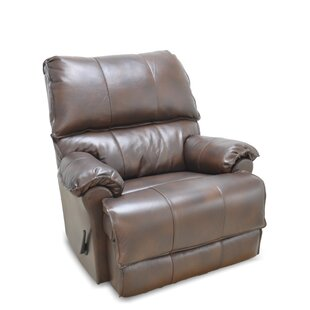 Emington Leather Manual Rocker Recliner by DarHome Co
