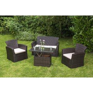 4-Sitzer Sofa-Set Bough mit Kissen von Garten Li..