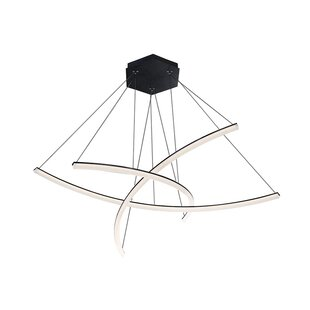 Orren Ellis Franck 3-Light LED Novelty Pendant
