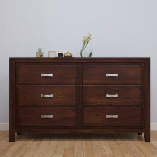 Alcott Hill Barwood 6 Drawer Double Dresser