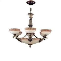 Zanin Lighting Inc. Alicante 9-Light Shaded Chandelier
