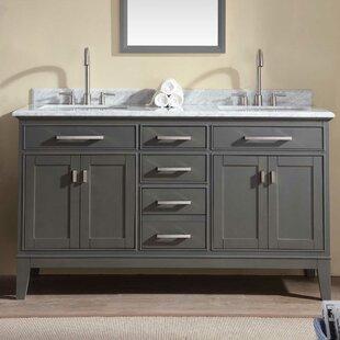 Arminta 60 Double Bathroom Vanity Set
