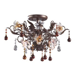 Sumrall Semi Flush Mount b..