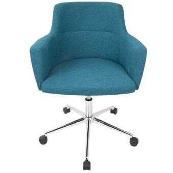 Ebern Designs Pautah Mid Back Mesh Drafting Chair Reviews Wayfair