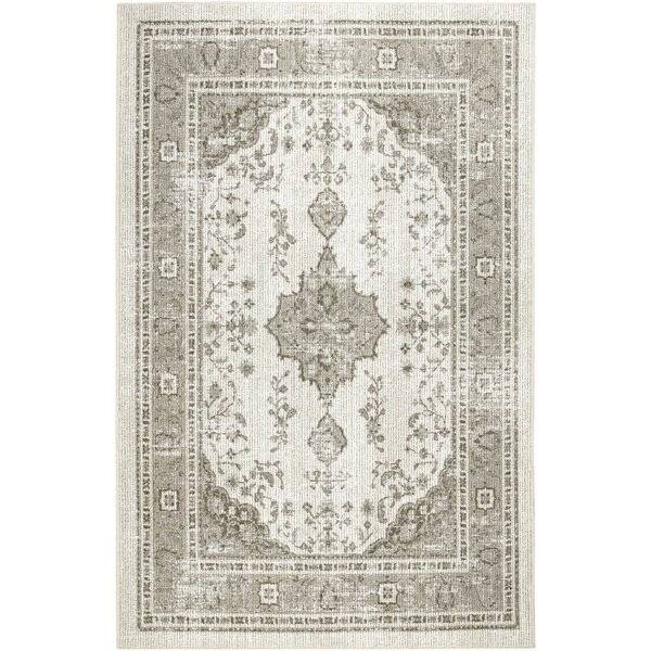 Canora Grey Washburn Oriental Looped Hooked Neutral Cream Area Rug Reviews Wayfair