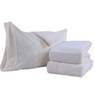 Berkshire Blanket Farmhouse Feathers Plush Sheet Set