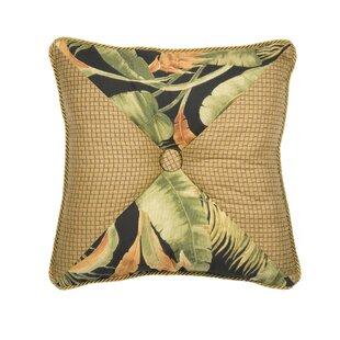 La Selva Black Square Throw pillow
