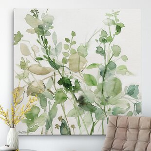 u0027Sage Garden IIu0027 Oil Painting Print on Wrapped Canvas  sc 1 st  Birch Lane & Flower Paintings u0026 Botanical Wall Art | Birch Lane